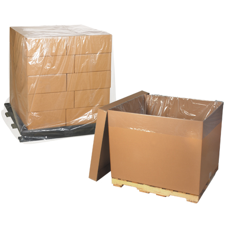 Pallet Covers - Clear - 3 Mil
