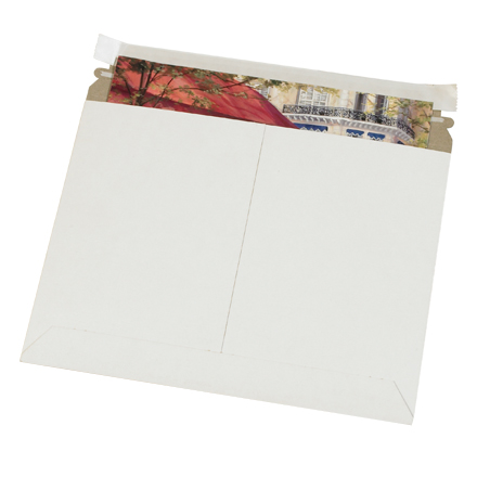 Utility White Flat Mailers