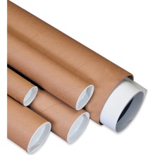 Kraft Mailing Tubes - Retail Packs