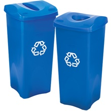 Rubbermaid<span class='rtm'>®</span> Square Recycling Containers