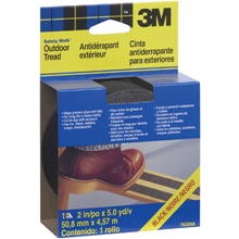 2&quot; x 15&#39; Black 3M 7635NA Safety-Walk<span class='tm'>™</span> Tape