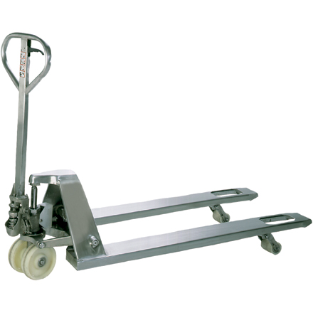 "48 x 27"" Stainless Steel Pallet Truck"